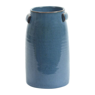 stoneware vase blue jars by Serax