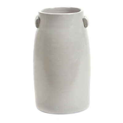 stoneware vase grey jars by Serax
