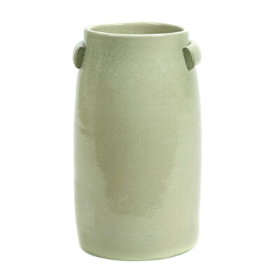 stoneware vase green jars by Serax