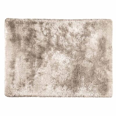 Handmade handwoven Adore beige rug by Ligne Pure