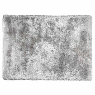 Handmade handwoven Adore grey rug by Ligne Pure