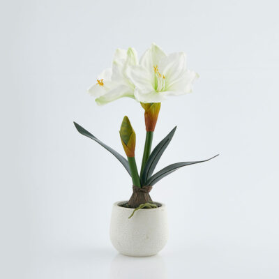 Artificial Amaryllis plant H42 by EDG