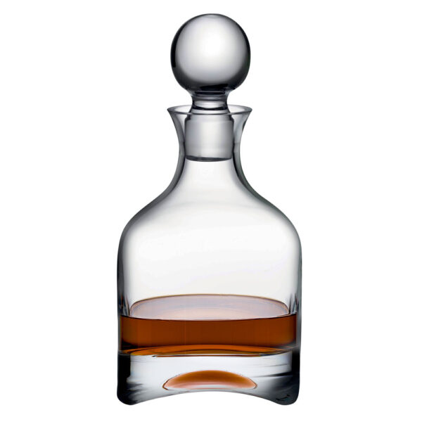 handmade lead-free crystal Arch Whisky Bottle by Nude