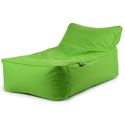 B BED green pouffe outdoor by extreme lounging