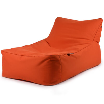 B BED orange pouffe outdoor by extreme lounging