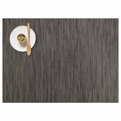 rectangle flannel placemat made of bamboo by Chilewich