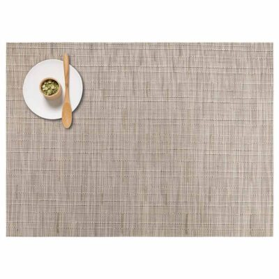 rectangle oat placemat made of bamboo by Chilewich