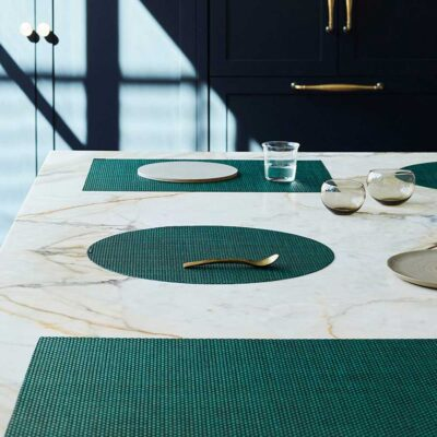 Rectangle green placemat by Chilewich