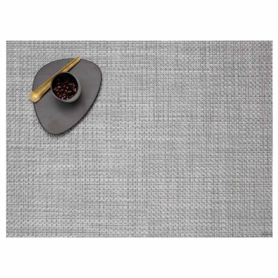 Rectangle grey placemat by Chilewich