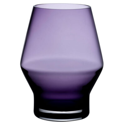 handmade Beak glass purple by Nude
