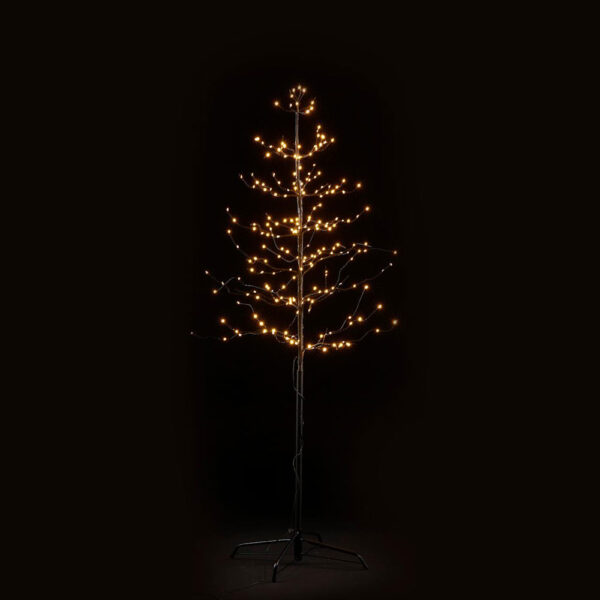 Beech Tree Black with LED H150 by EDG