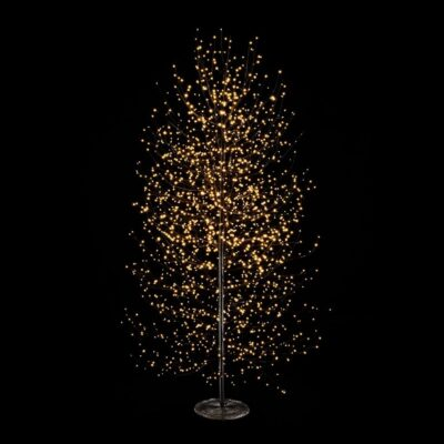 Beech Tree Black with LED H180 by EDG