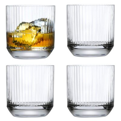 handmade Big top Whisky DOF Glass by Nude