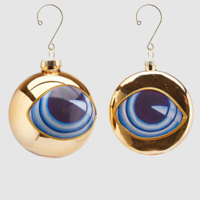 Christmas bauble blue eye by EDG