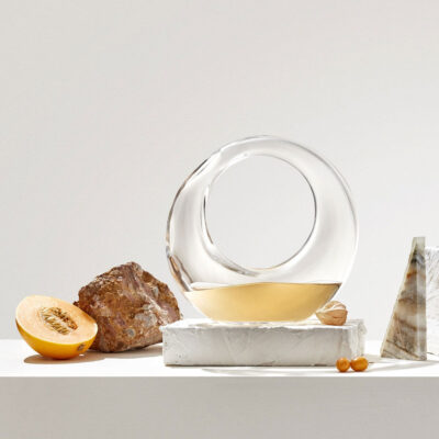 handmade Lead-free crystal DecanteRing by Nude