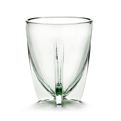 glass low pale green designed by Ann Demeulemeester