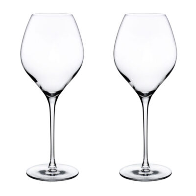 Set of 2 Fantasy White Wine Glasses by Nude