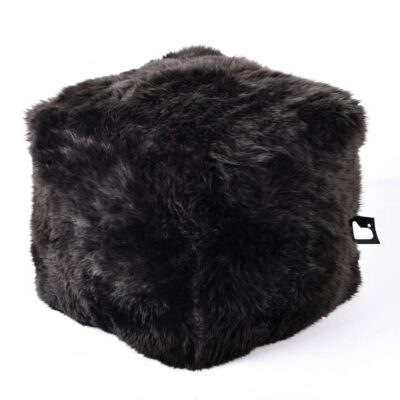 Pouffe B BOX Fur Brown extreme-lounging