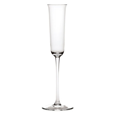 Grace champagne glass transparent designed by Ann demeulemeester
