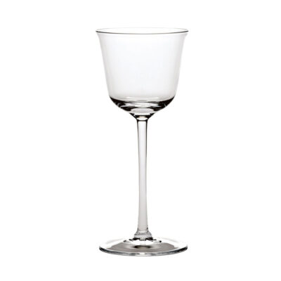 Grace wine glass designed by Ann Demeulemeester