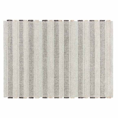 handwoven wool/viscose Grade beige rug by Ligne Pure