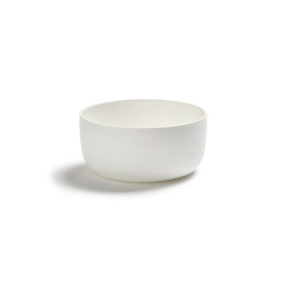 white porcelain high bowl by Serax