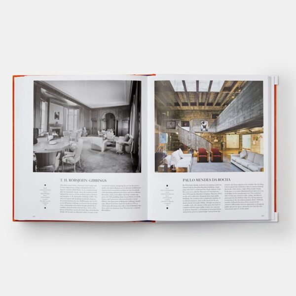 Interiors The Greatest Rooms of the Century Orange Edition by Phaidon