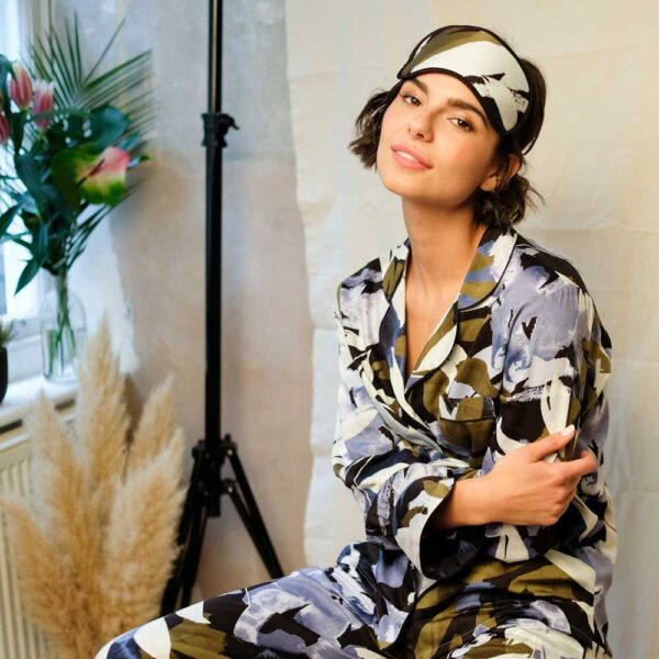 Kensington Floral Eyemask by Fable and Eve