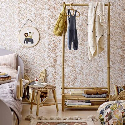 Kids Bamboo coat rack by Bloomingville