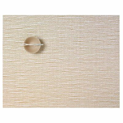 Rectangle Gold placemat Chilewich