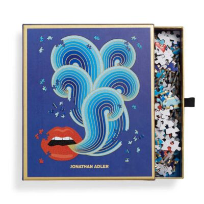 750 pieces Lips shaded puzzle by Jonathan Adler