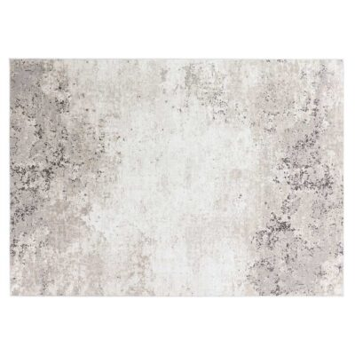 handmade woven Luminous grey rug by Ligne Pure
