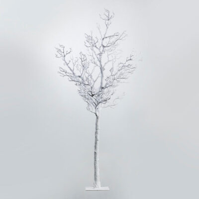 Manzanite Tree PVC white h200 by EDG