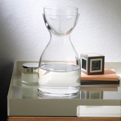 handmade Night Water Carafe and Glass Set short by Nude