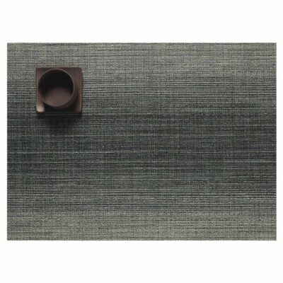 Ombre Rectangle Jade placemat by Chilewich
