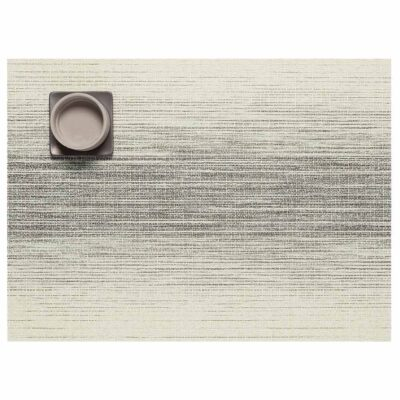 Ombre Rectangle Natural placemat by Chilewich