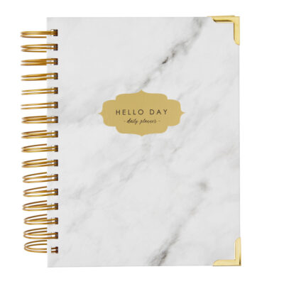 Original 2021 Daily Planner Carrara by Hello-day