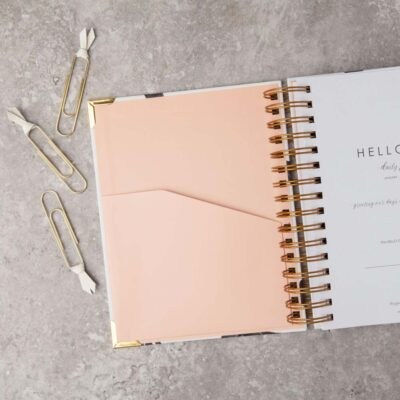 Original 2021 Daily Planner Carrara by Hello day