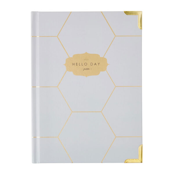 Petite 2021 weekly planner hex by Hello Day