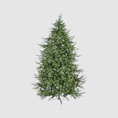 Christmas Pine Tree Luxury Green with LED h210 by EDG