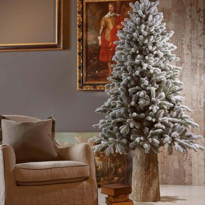 Christmas Pine Tree Merano with snow H150 by EDG