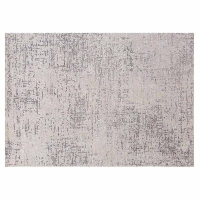 handknotted wool/viscose Reflect grey Rug by Ligne Pure