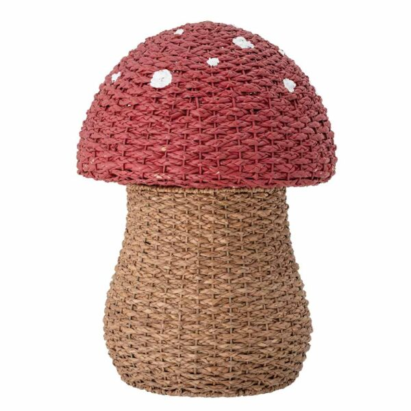 Toadstool storage basket by Bloomingville
