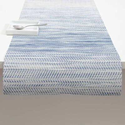 Wave Rectangle grey placemat by Chilewich