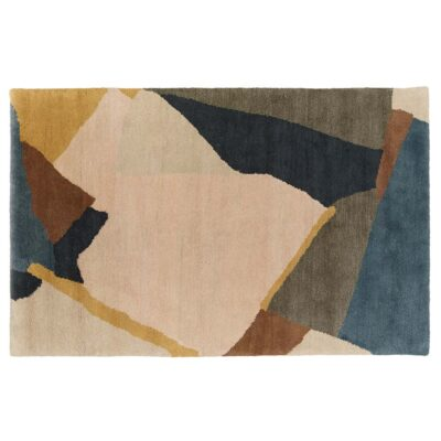 Abstract rug designed by Daniel Hechter by Toulemonde Bochart