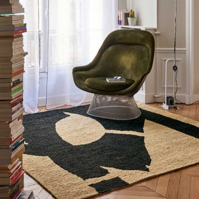 arcades square rug designed by Eric Gizard by Toulemonde Bochart
