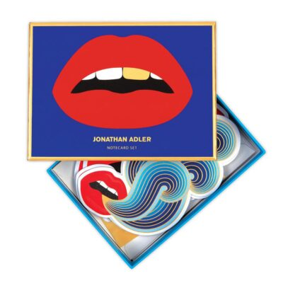 lips notecard set by Jonathan Adler
