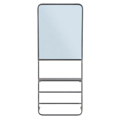 mirror with shelving by Bloomingville