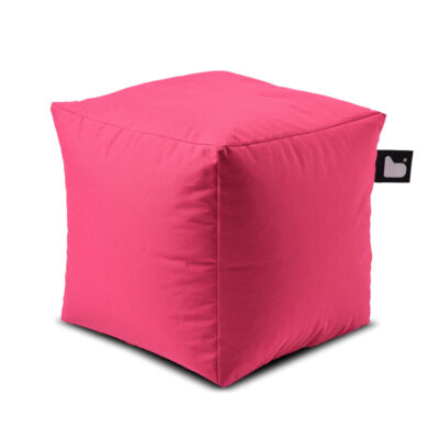 outdoor box pink pouf by Extreme Lounging