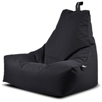 outdoor mighty black bean bag by Extreme Lounging
